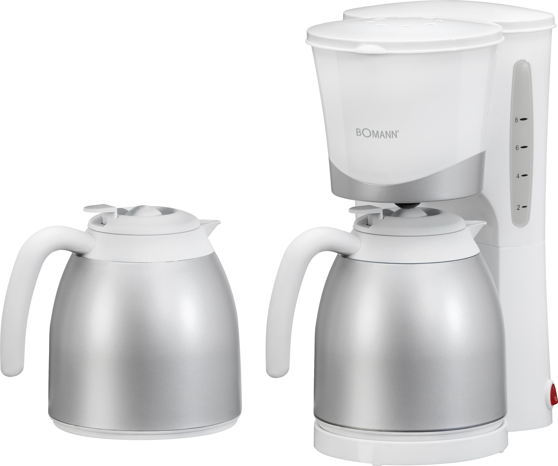 Bomann-Kaffeemaschine-2-Thermokannen-Kaffeeautomat-NEU